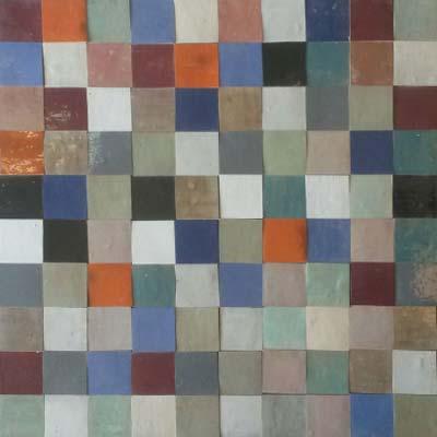 Zellige Pinar Miró - Patchwork PZ1