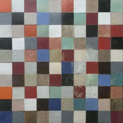 Zellige Pinar Miró - Patchwork PZ4
